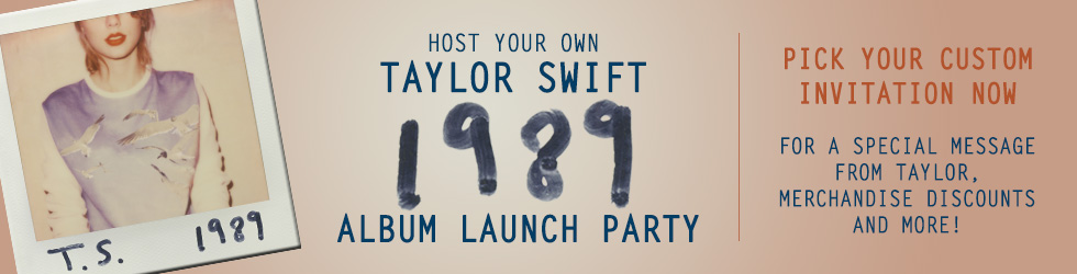 Taylor Swift Album Launch Party