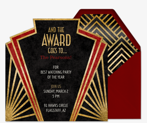 Awards Banquet Invitation is Beautiful Template To Create Nice Invitation Sample