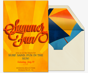 Summer Fun Invitation