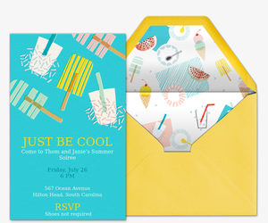 Be Cool Invitation