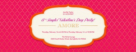 Amore Invitation