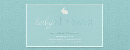 baby, baby shower, boy, bunny, rabbit