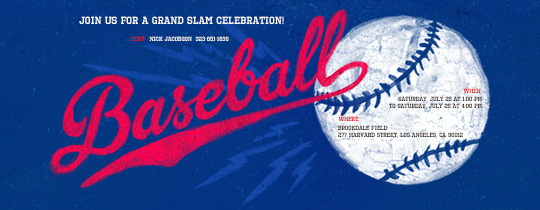 Ball and Strikes Invitation