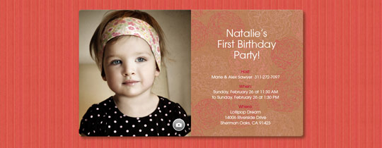 Blushing Blooms Invitation