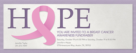 Hopeful Together Invitation
