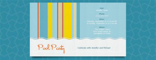 Cabana Invitation