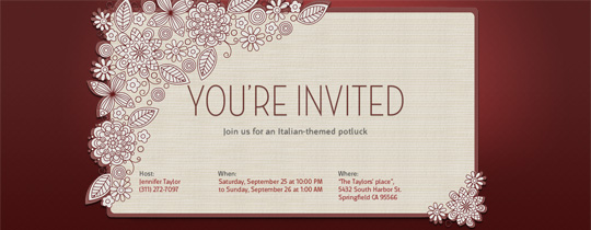 Online Invitation Template – Invitation Templates Free Online