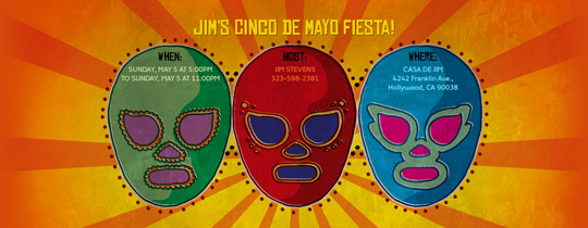 celebrate cinco de mayo!, cinco de mayo, cinco masks