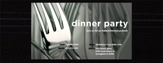 black & white, dinner, dinner party, forks, silver, silverware