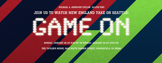 super bowl, super bowl party, football, sports, stripes, new England, Seattle, Patriots, Seahawks, superbowl, watch the game, viewing party,