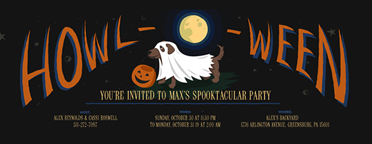 Howloween Invitation