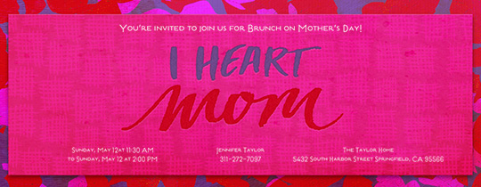 heart, mom, mother, mother's day, pink