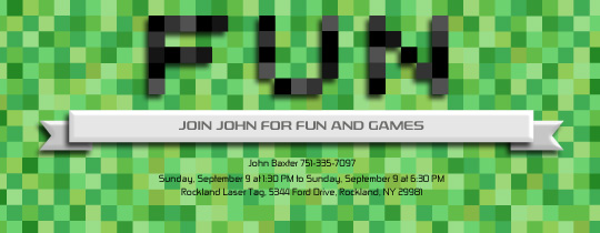 fun, pixel, video games, pixels, minecraft, movies, viewing party,