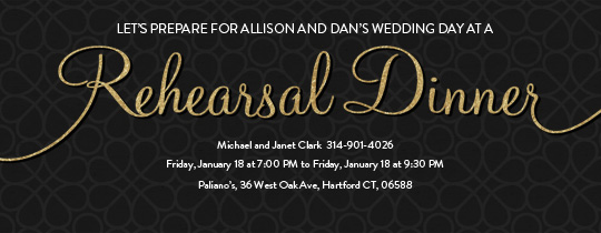 Who Is Invited To The Wedding Rehearsal Dinner: Weddings Free Online Invitations