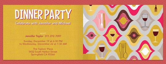 dinner, dinner party, mid-century modern, mod, retro, wine, wine tasting, wine glass,