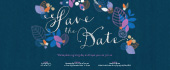 save the date, flower, flowers, leaf, leaves