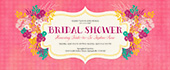bridal, bridal shower, bride, floral, flower, flowers, pink, shower, spring, wedding, wedding shower