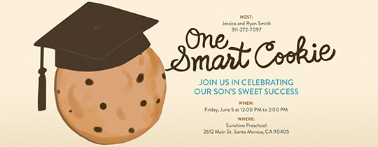 Smart Cookie Invitation