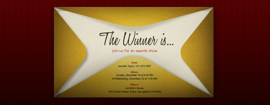 The Envelope Invitation