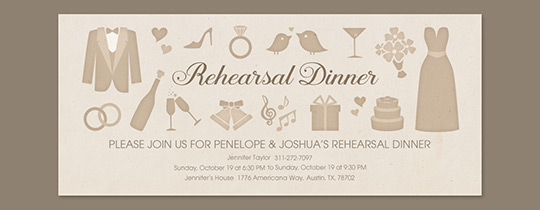 Wedding Elements Invitation