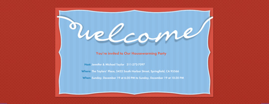 housewarming, welcome, welcome mat