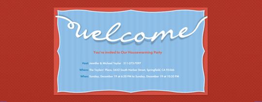 housewarming, welcome, welcome mat