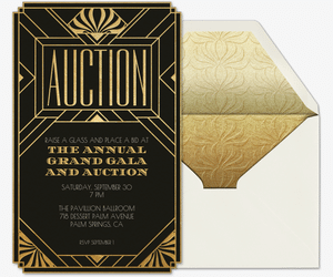 Auction Art Deco