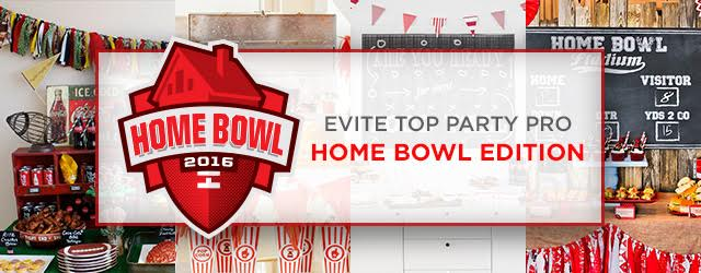 Evite Top Party Pro Home Bowl Edition