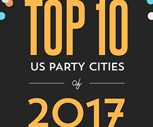 Evite Unveils Top 10 Party Cities in the U.S