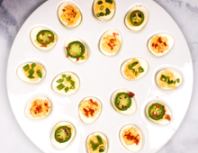 Browse Party Ideas Deviled Eggs 3 Ways
