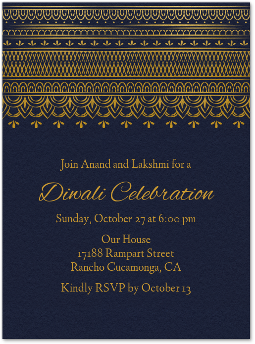 Mehndi Invite Invitation