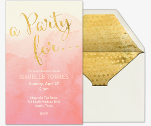 Evitecom Free Online Baby Shower Invitations with RSVP
