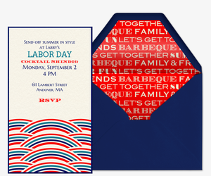Labor Day Invitation