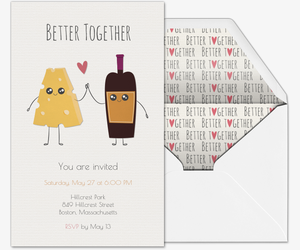 Valentines Day Online Invitations - Valentine's day invitation template