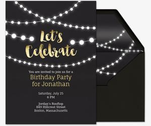 Free Birthday Party Invitations for Him Evitecom