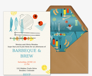 BBQ Bonanza Invitation