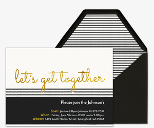 Dinner Party Invitations wwhat to bring list for guests Evite