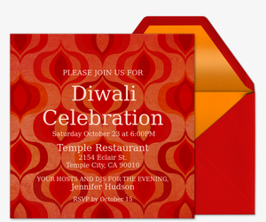 Diwali Esquivel Invitation