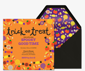 Treats Invitation