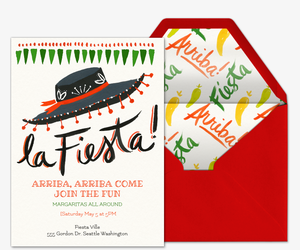 Party Invitations in Spanish Invitaciones para fiestas