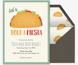Invitaciones para fiestas gratis free online party invitations in taco bout a fiesta invitation stopboris