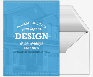 Design Your Own Portrait Real Estate Invitation