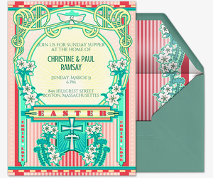 free easter online invitations evite
