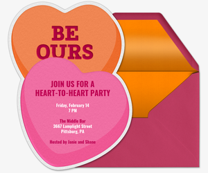 Valentines Day Online Invitations