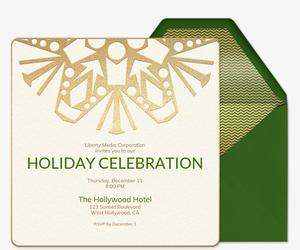 Holiday Party Invitations Evitecom