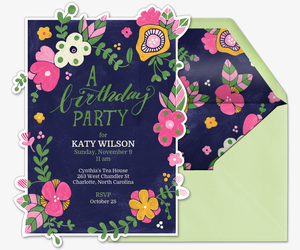 Free birthday invitations send online or by text evite birthday blooms invitation filmwisefo