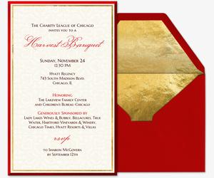 Cardinal Invitation