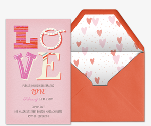 Fun Love Invitation