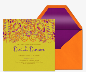 Online diwali party invitations evite mehndi invitation stopboris Gallery