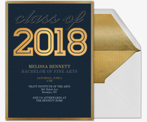 Momentous Occasion 2018 Invitation